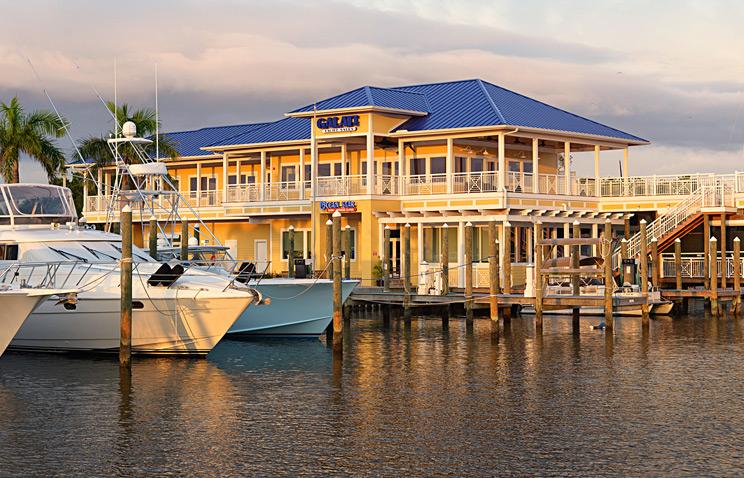 Galati Yachts and Ocean Star Restaurant