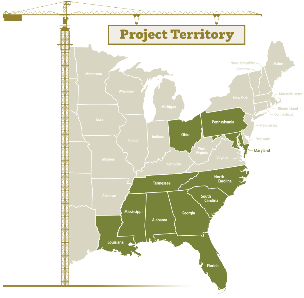 Oden Hardy Project Territory